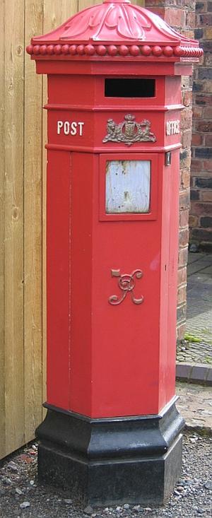 Victorian Letter Box © essentially-england.com