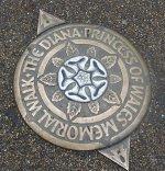 Princess Diana Memorial Walk Plaque © Pixabay