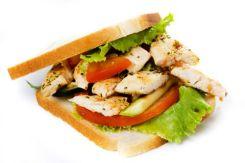Chicken Sandwich | © Igor Dutina | Dreamstime.com