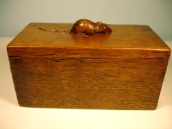 Mouseman Trinket Box. Image © www.mousemanfurniture.com