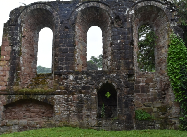 lilleshall abbey ruins in shropshire