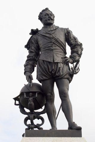 Sir Francis Drake © Ian Danbury | Dreamstime.com
