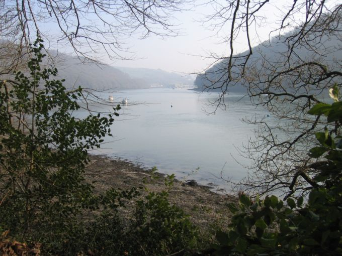 View from Greenway, Agatha Christie's Home, over the River Dart © essentially-england.com