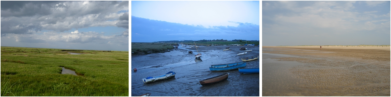 Images from the Blakeney Marshes © essentially-england.com