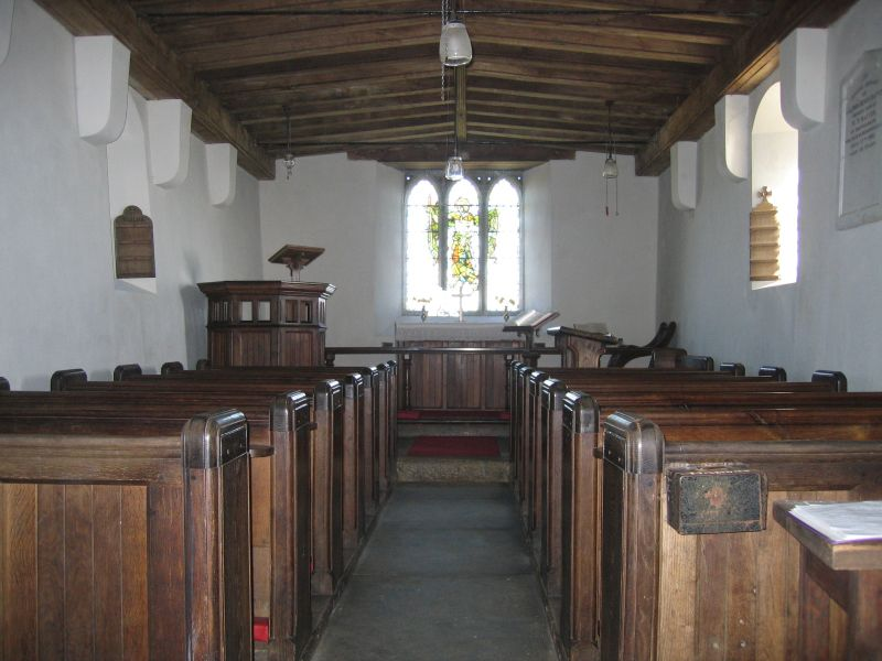 Brentor Church Interior