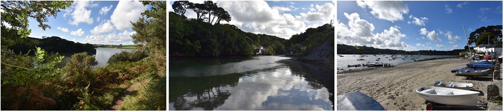 Images from the Helford Passage and Frenchman's Creek © essentially-england.com