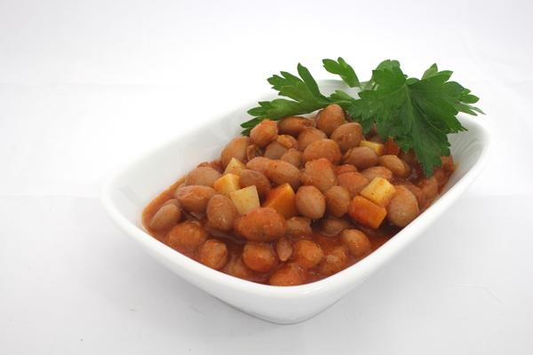 Dish of baked beans | © Tohma, pixabay.com