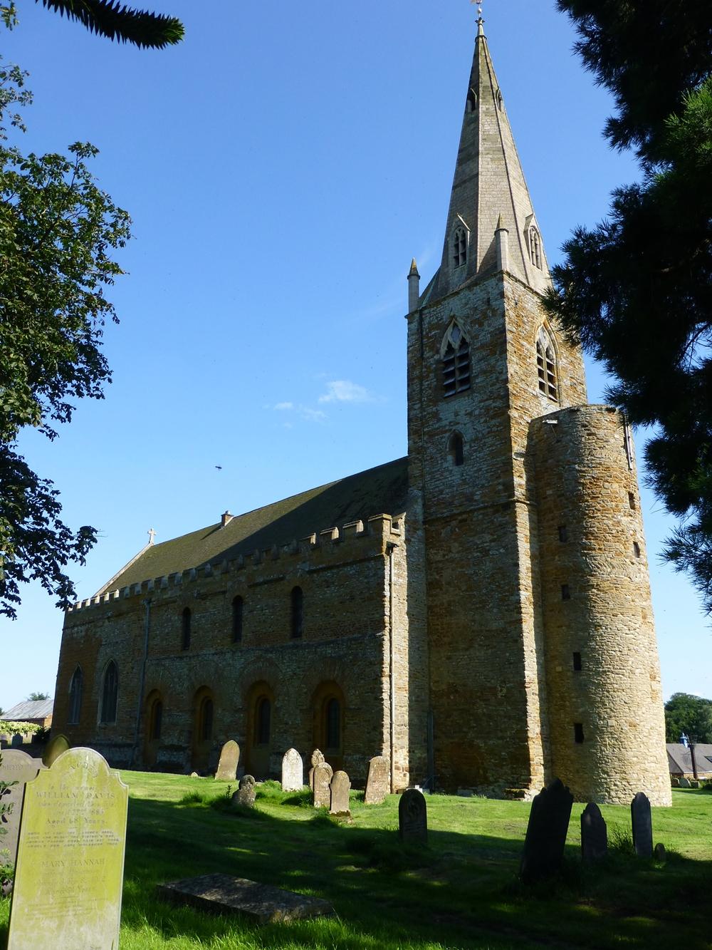 Brixworth Saxon Church © essentially-england.com
