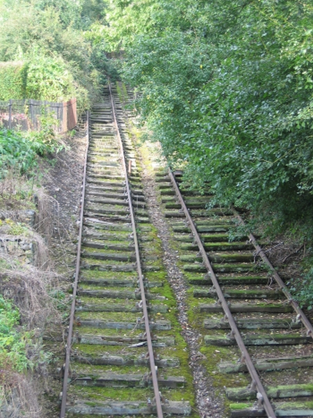 The Hay Incline Plane, part of the Ironbridge Gorge World Heritage Site in Shropshire.
