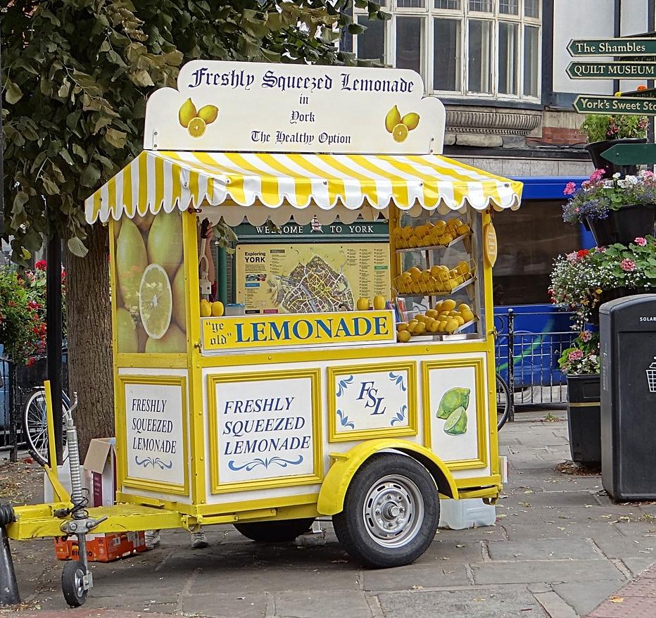 Lemonade Cart | © Aleviva-Medien pixabay.com