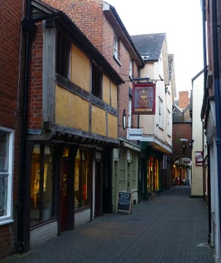 Medieval Street © essentially-england.com