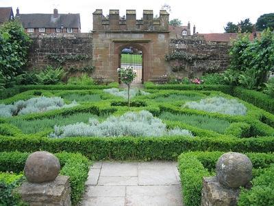English gardens for English knot garden designs