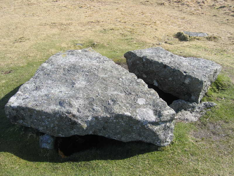 Prehistoric Kist at Merrivale, Devon