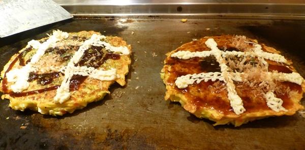 Okonomiyaki style savoury pancakes | © essentially-england.com