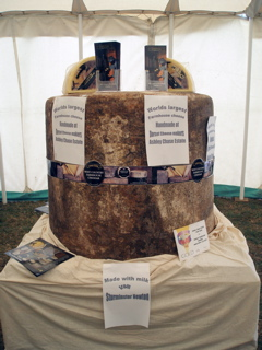The Big Cheese at the Sturminster Newton Cheese Festival © Chris Willis