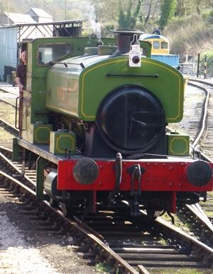 Drive a Steam Train at Wirksworth © essentially-england.com