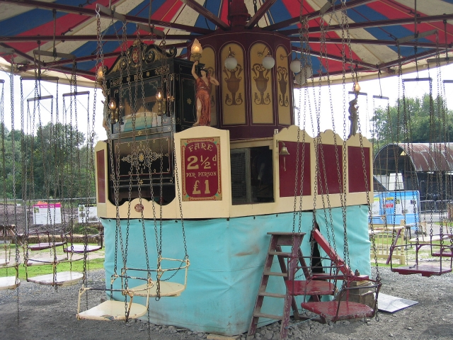 Victorian Carousel <br/> © essentially-england.com