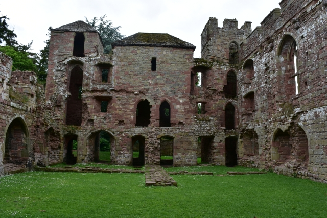 Remains of the interior of Acton Burnell Castle   © essentially-england.com
