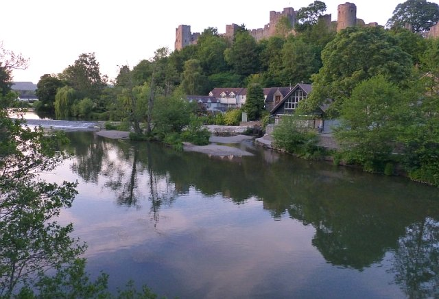 The Mill Area and Castle as the Sun Starts to Set © essentially-england.com