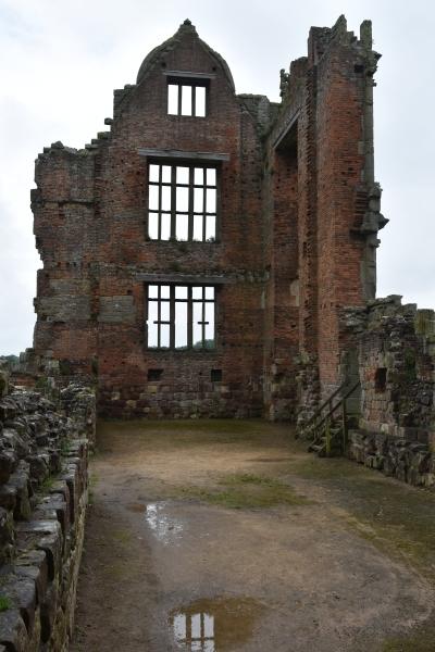 inside the dinning chamber of moreton corbet castle