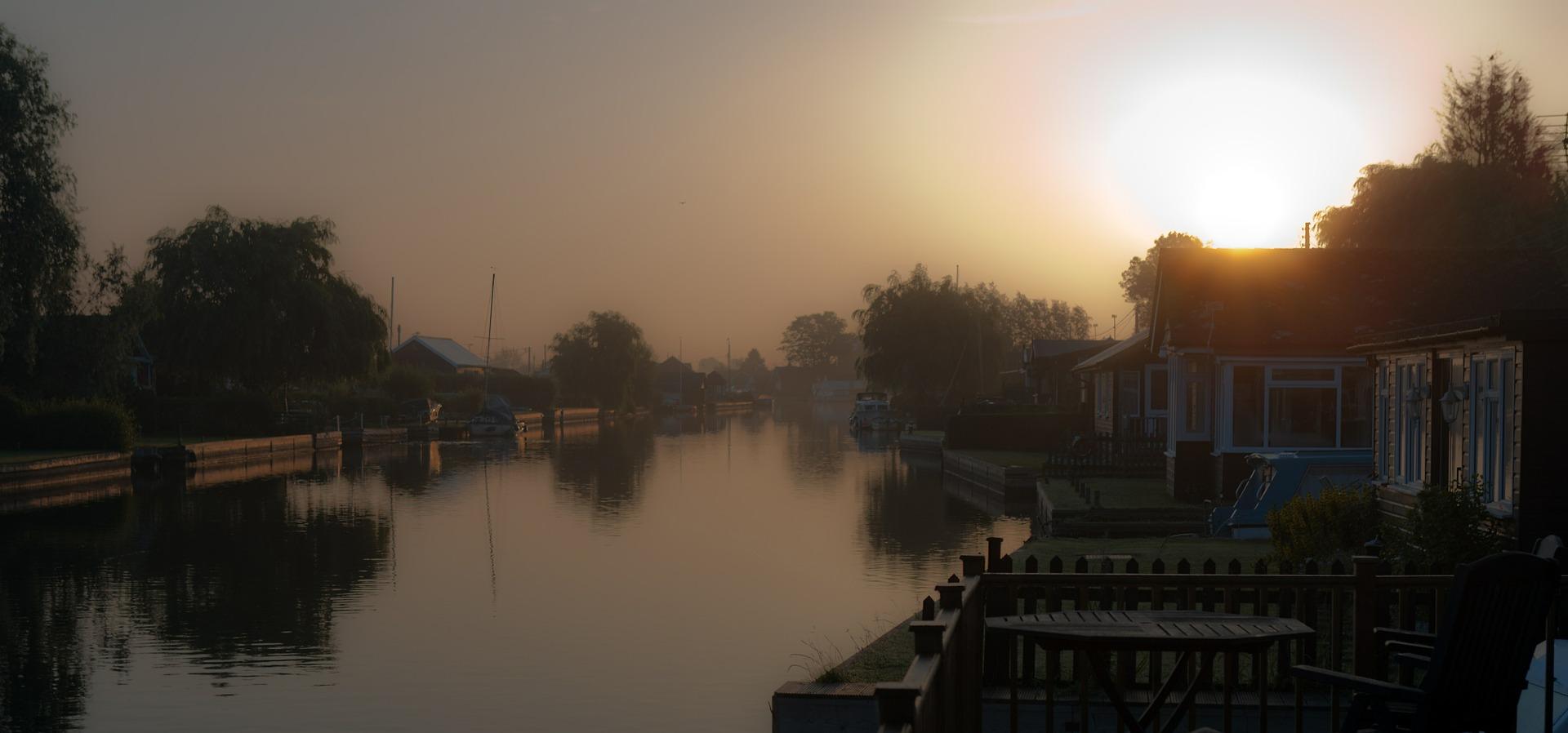 Atmospheric Norfolk Broads © RonPorter   pixabay.com