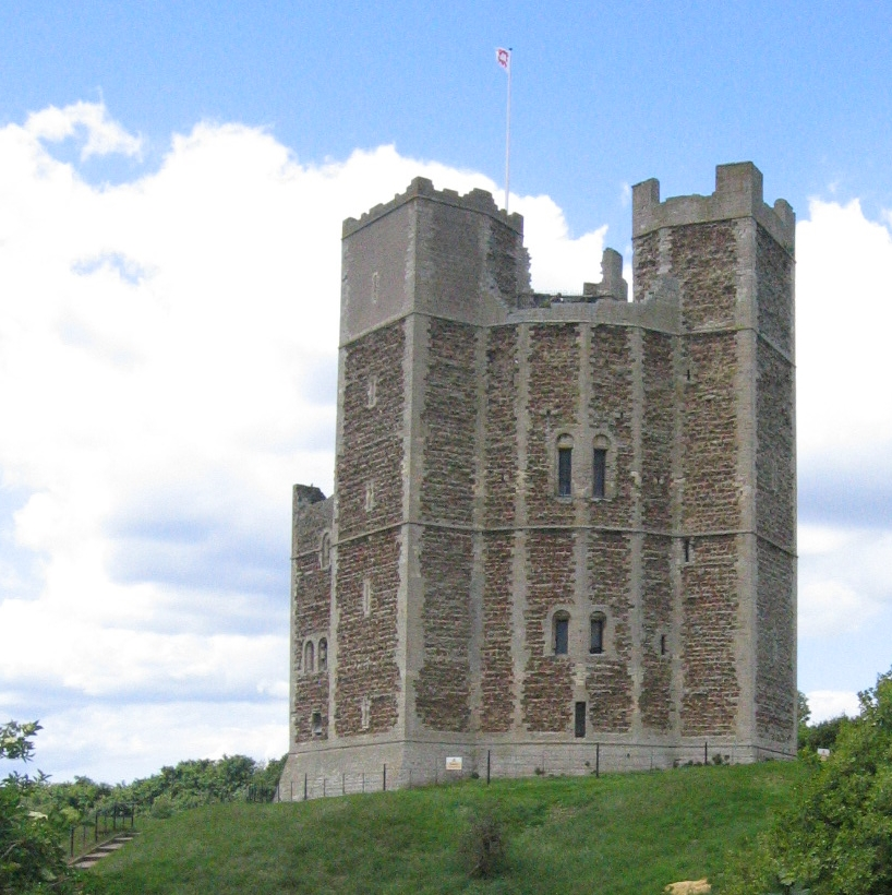 Henry II's castle at Orford, Suffolk | © essentially-england.com