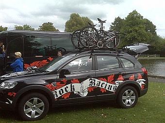 Rock Racing's bikes