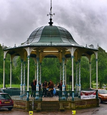 The Bandstand in Quarry Park © essentially-england.com