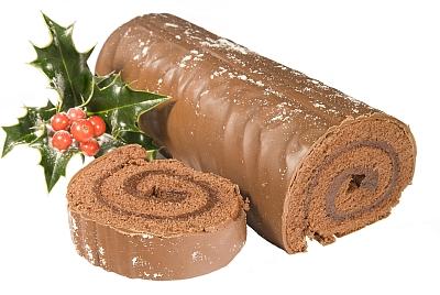 Chocolate Yule Log © Christopher Elwell | Dreamstime.com