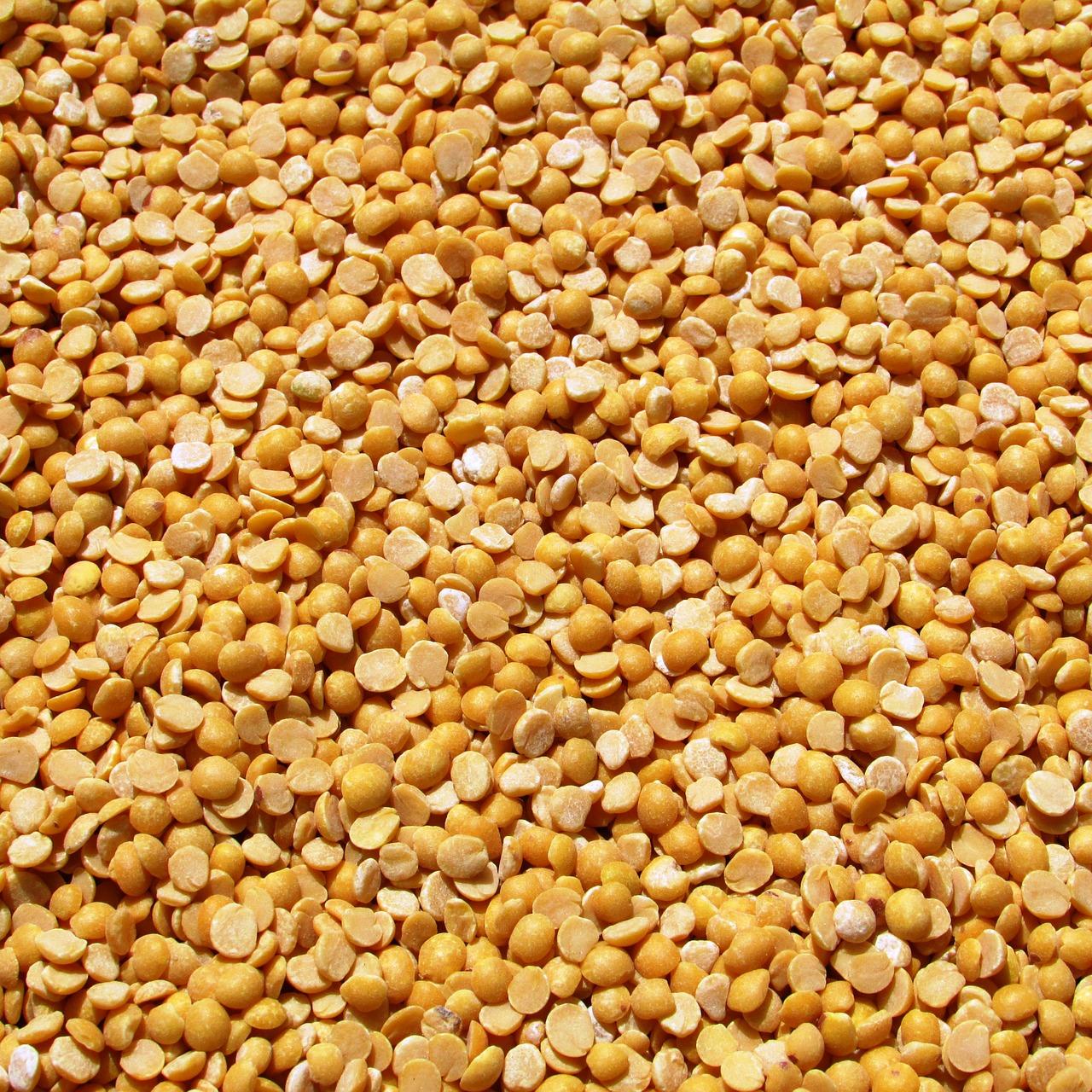 Yellow Split Peas | Vijayanarasimha pixabay.com
